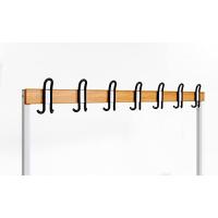 Garderobenbank einseitig 150 cm grau