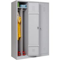 Garderobenschrank Abteilbreite 40 cm ganze Türen mit...