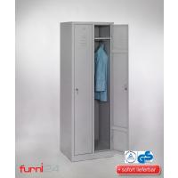 Garderobenschrank Abteilbreite 30 cm ganze Türen