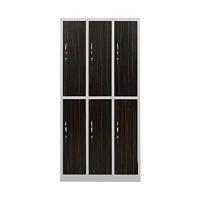 Garderobenschrank Abteilbreite 40 cm halbe Türen