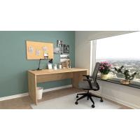 Schreibtisch Nuvi 160 cm x 80 cm x 75 cm Saphir Eiche