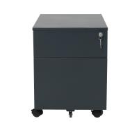 Rollcontainer Schreibtischcontainer 2 Schübe
