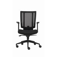Bürodrehstuhl Netzrücken Svago schwarz