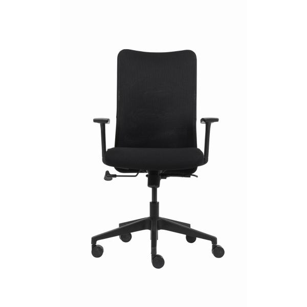 Bürodrehstuhl hoher Rücken Plenty schwarz