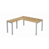 Schreibtisch Tetra 160 cm inkl. Anbau rechts o. links...
