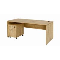 Büro Schreibtisch Set 1 Nuvi Saphir Eiche Dekor,...