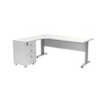 Büro Schreibtisch Set Dona Grau Dekor, Bestehend...