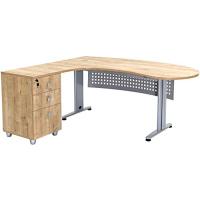 """Büro Schreibtisch Set 1 """"GELA"""" Eiche..."""